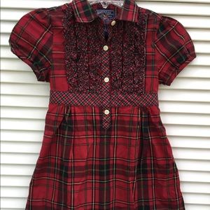Girls American Living Plaid Dress